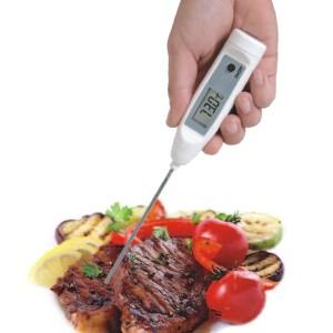 Termómetro con certificado de calibración de penetración
